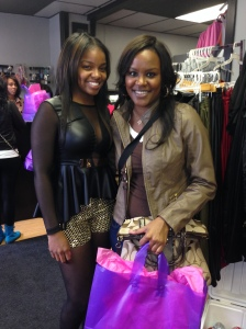 "even i was able to find my ""it"" item at the Spoiled Forever ""sip and shop"""