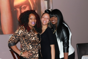 The women behind Strut in Her Shoes- Shawnte, Ashley and Erikka