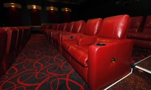 Deluxe recliner chairs at the AMC Dublin after multi-million dollar improvements, making it one of a few in the chain with a big makeover in Dublin on October 14, 2013. (Dispatch photo by Kyle Robertson)